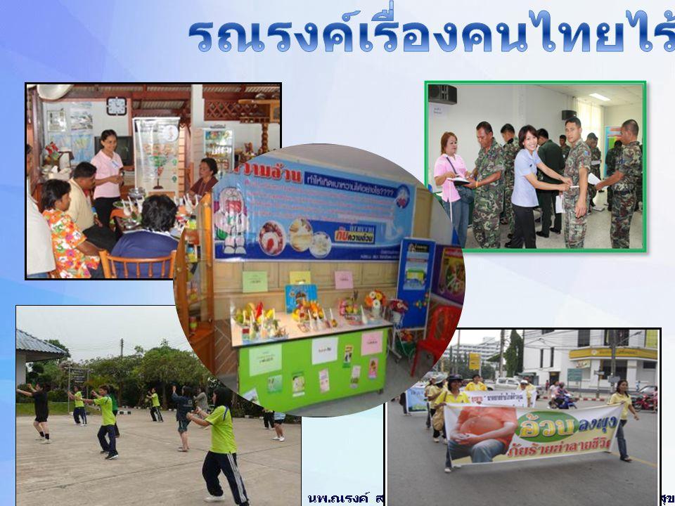 รณรงค์เรื่องคนไทยไร้พุง