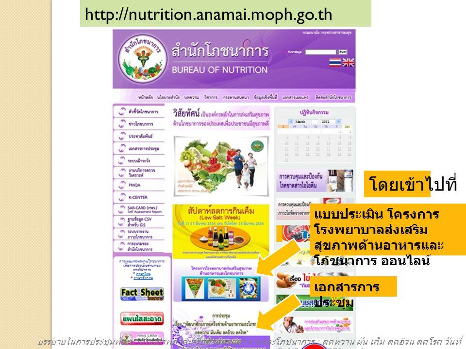 http://nutrition.anamai.moph.go.th โดยเข้าไปที่