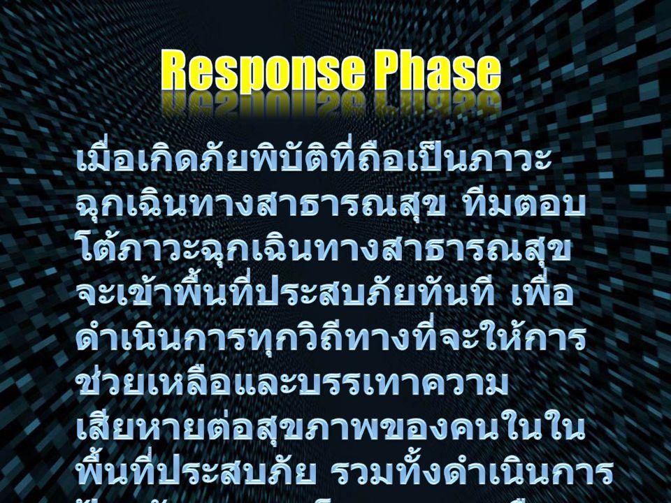 Response Phase