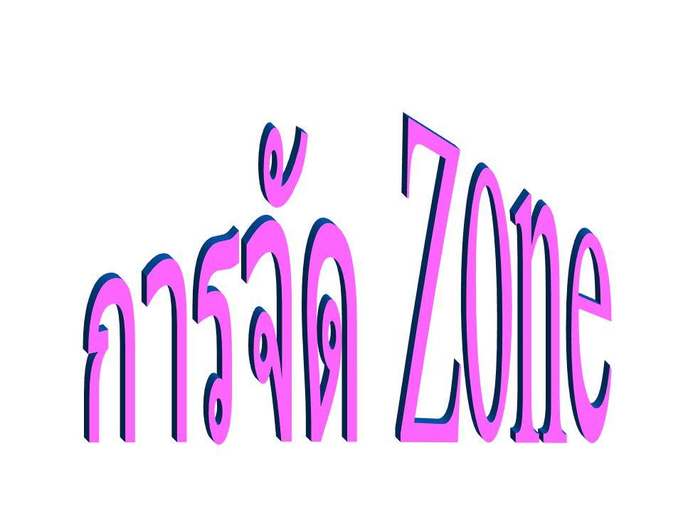 การจัด Zone