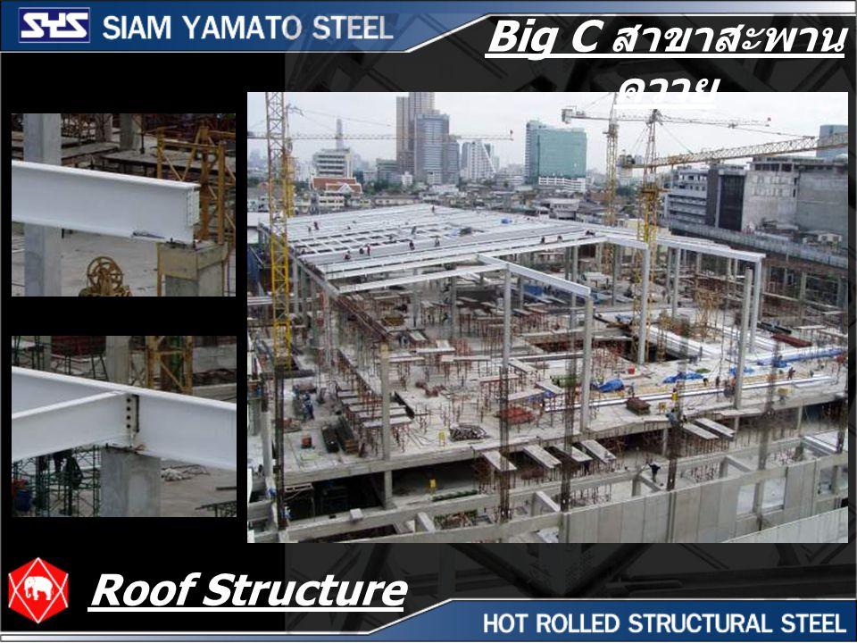 Big C สาขาสะพานควาย Roof Structure