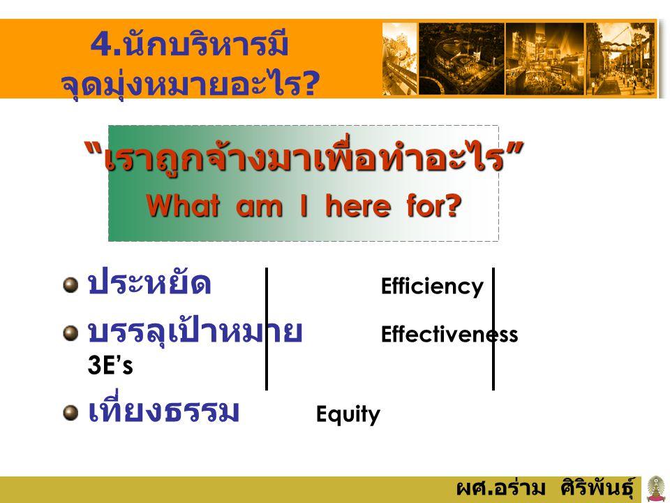 Efficiency = ประสิทธิภาพ