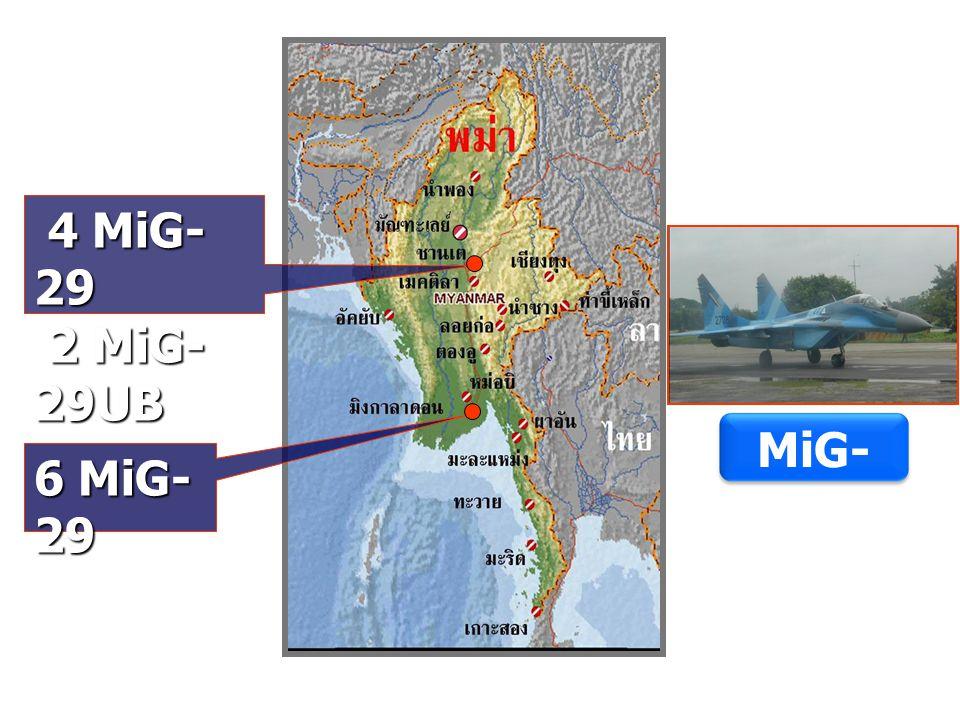 4 MiG-29 2 MiG-29UB MiG-29 6 MiG-29