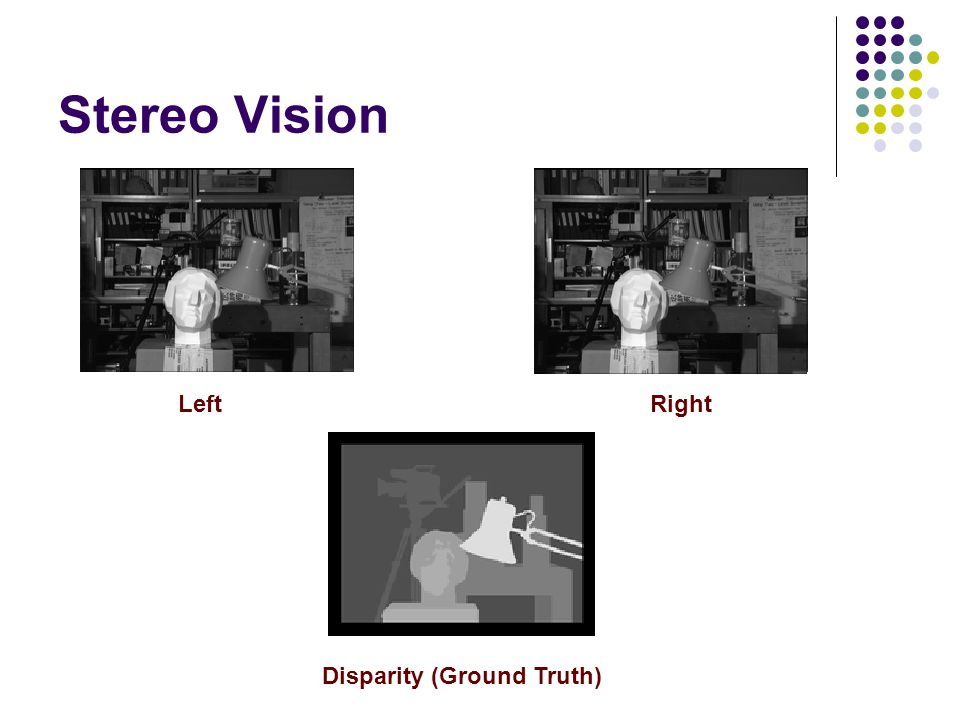 Stereo Vision Left Right Disparity (Ground Truth)
