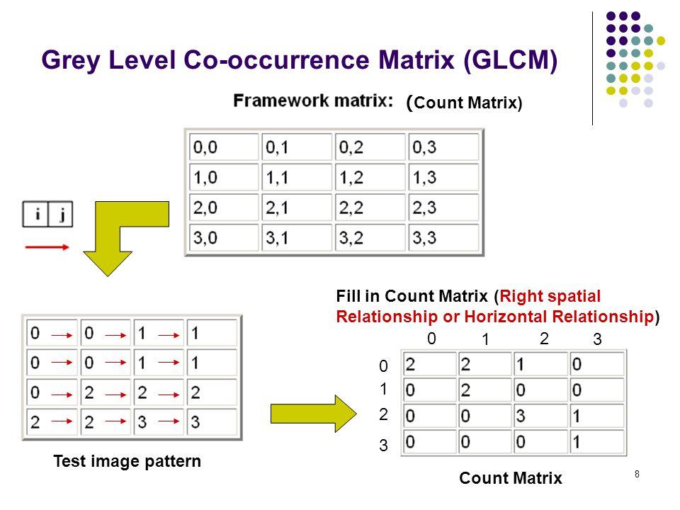 Grey Level Co-occurrence Matrix (GLCM)