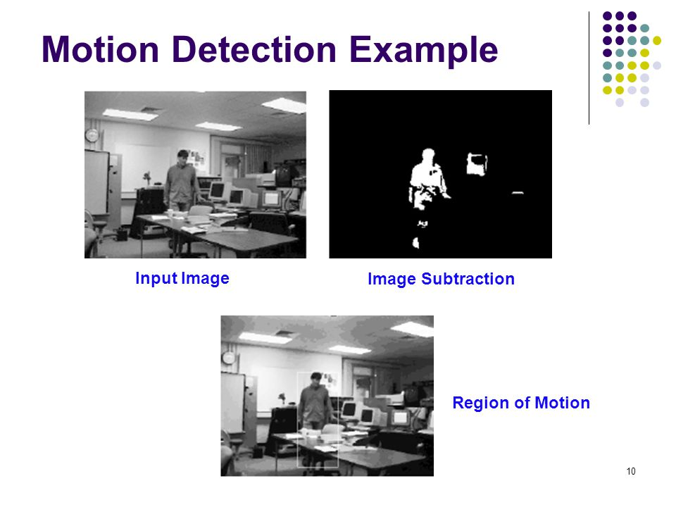 Motion Detection Example