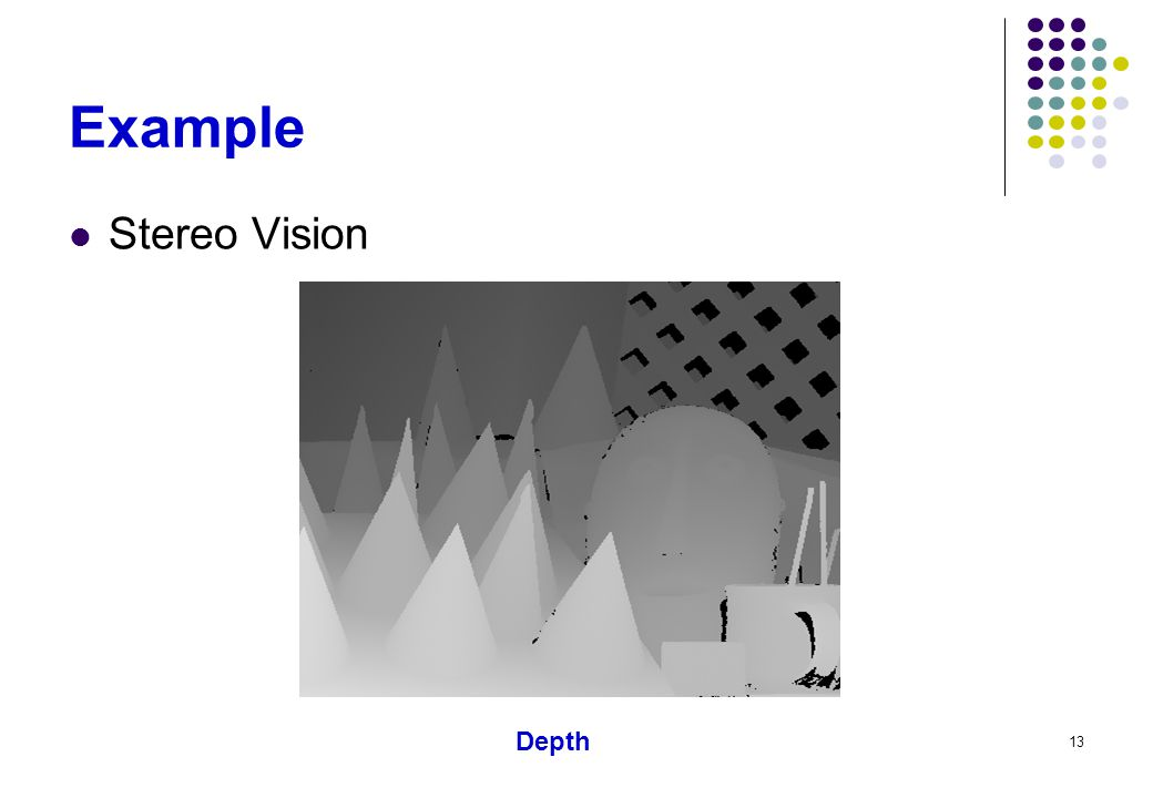 Example Stereo Vision Depth