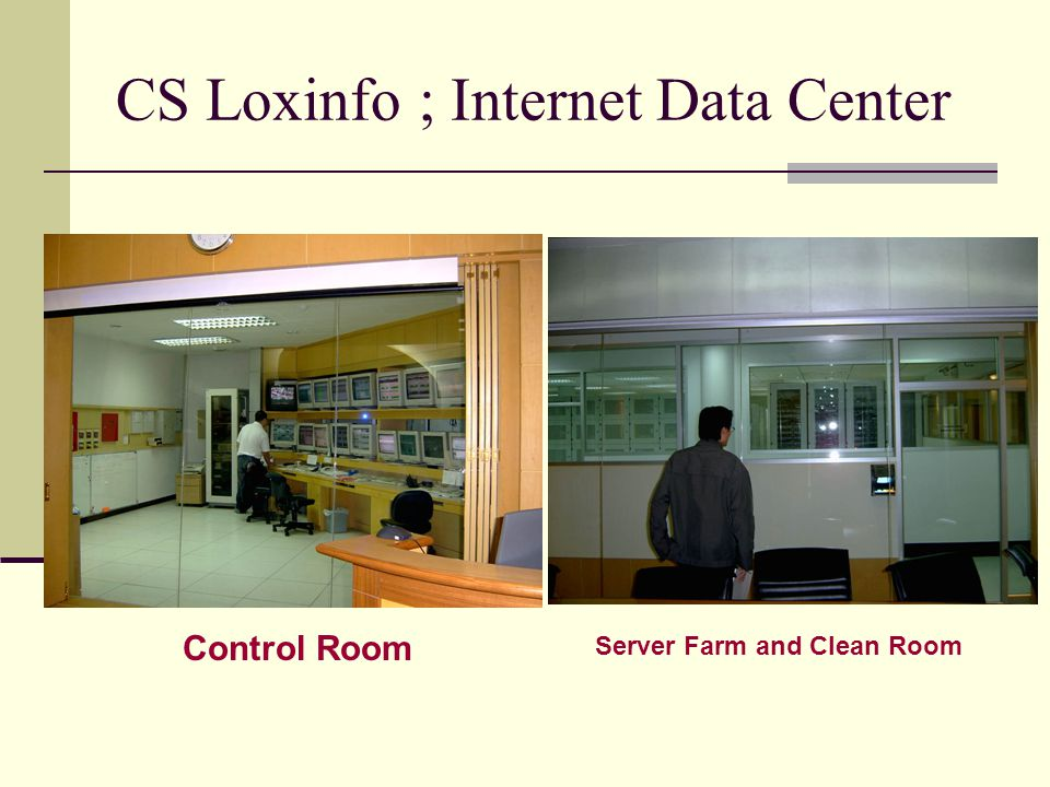 CS Loxinfo ; Internet Data Center