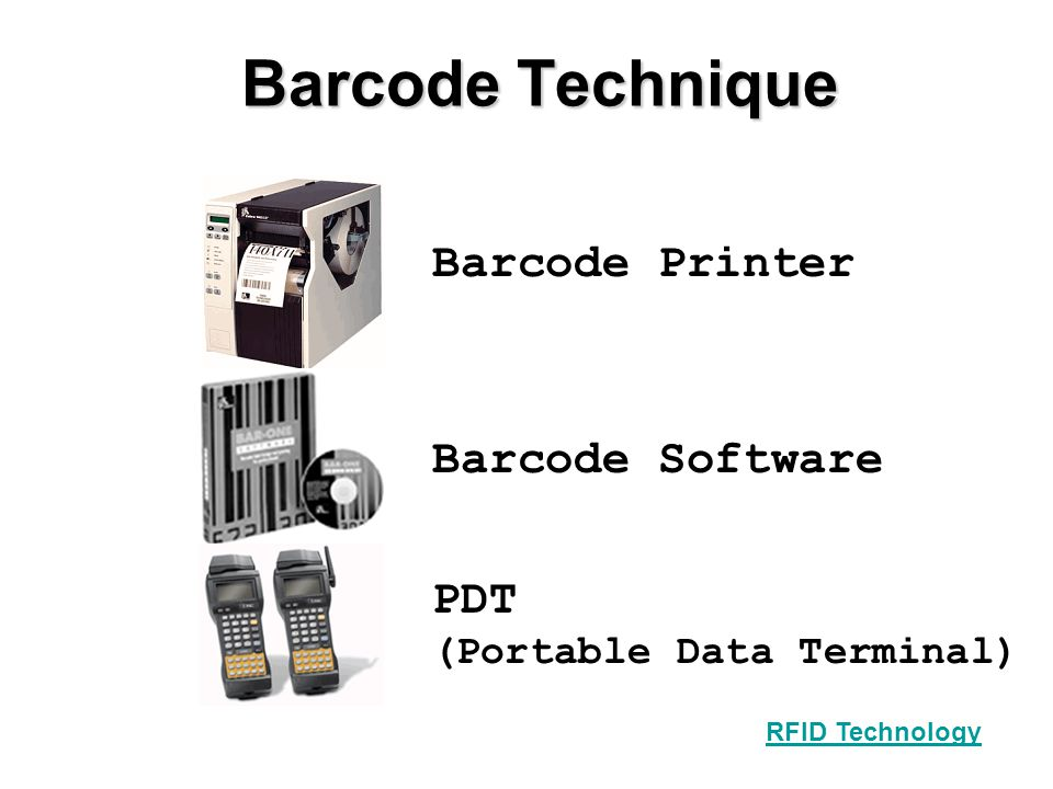 Barcode Technique Barcode Printer Barcode Software PDT