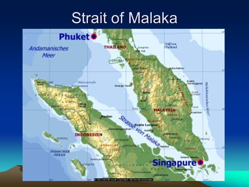Strait of Malaka