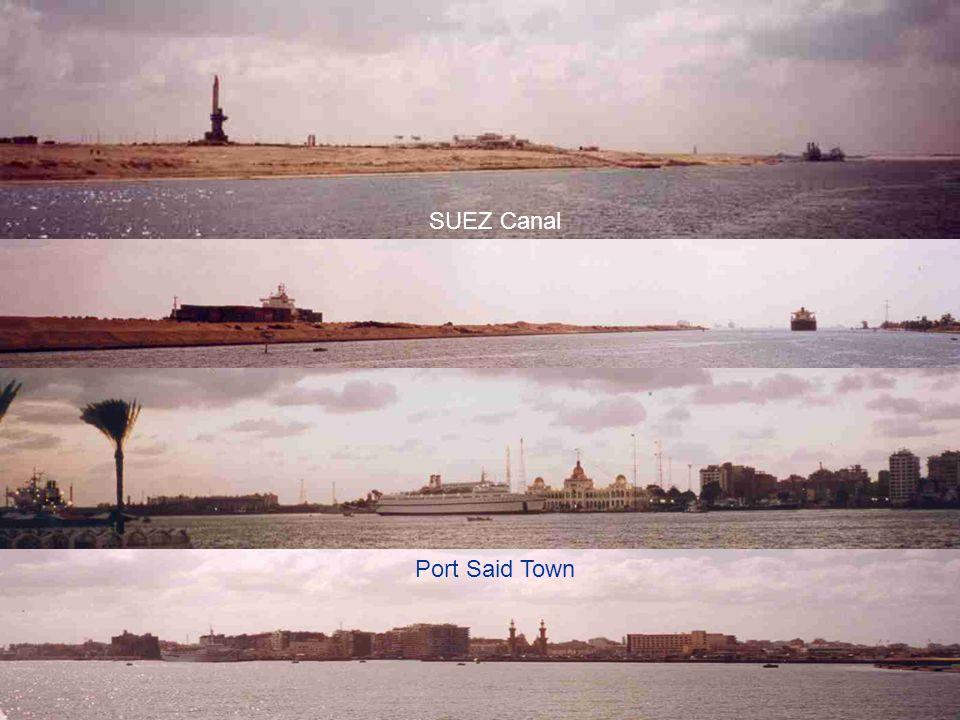 SUEZ Canal Port Said Town