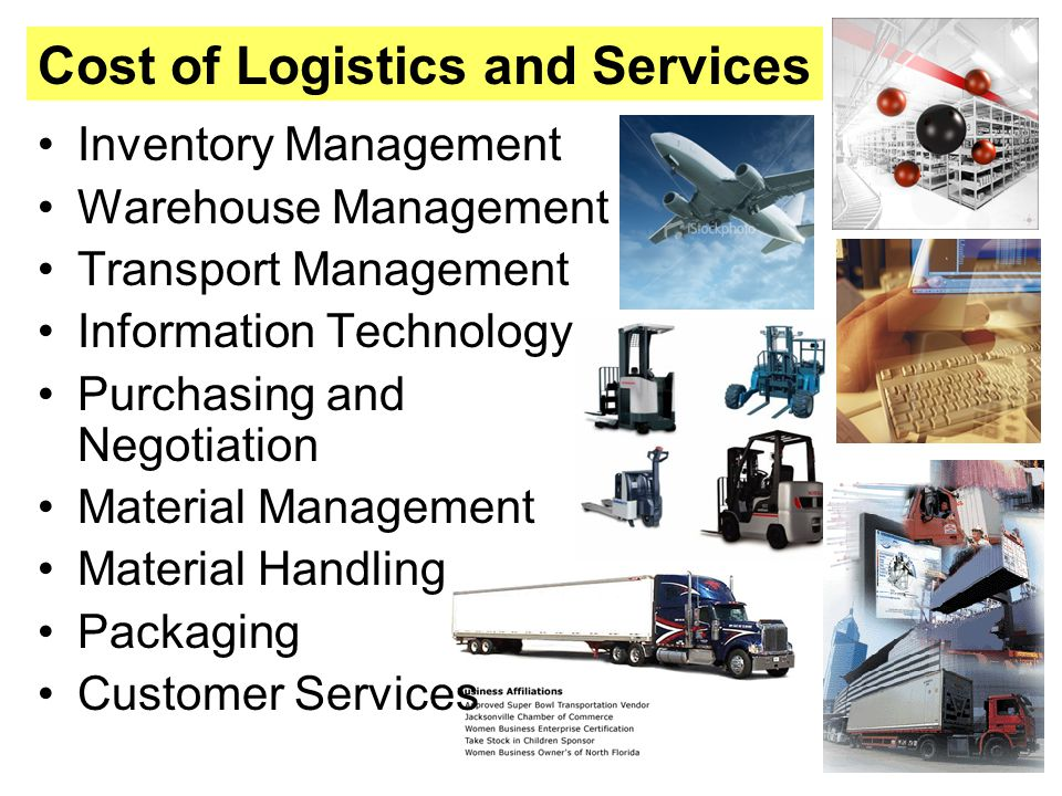 Cost of Logistics and Services