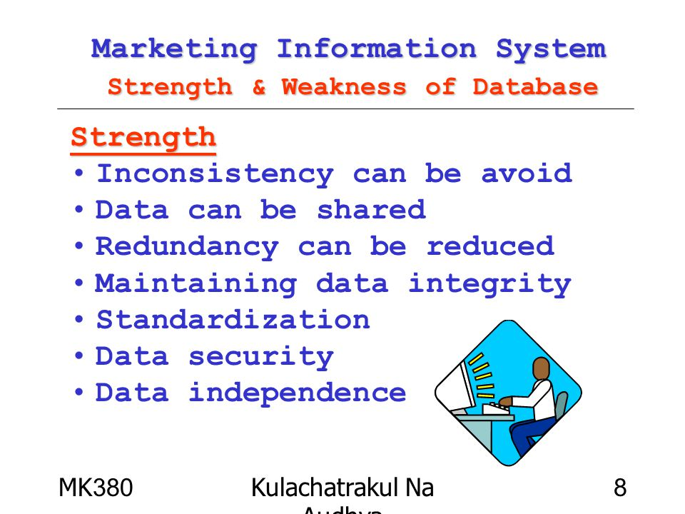 Marketing Information System Strength & Weakness of Database