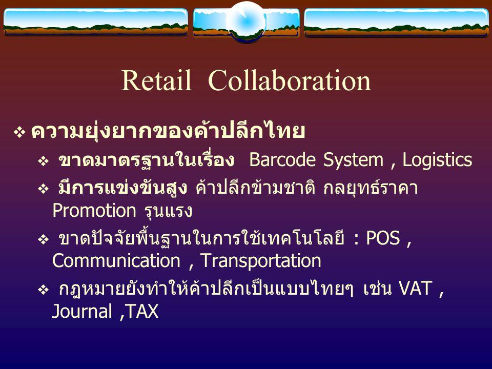 Retail Collaboration ความยุ่งยากของค้าปลีกไทย