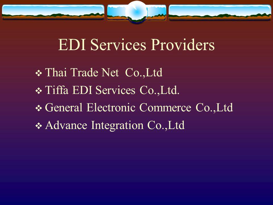 EDI Services Providers