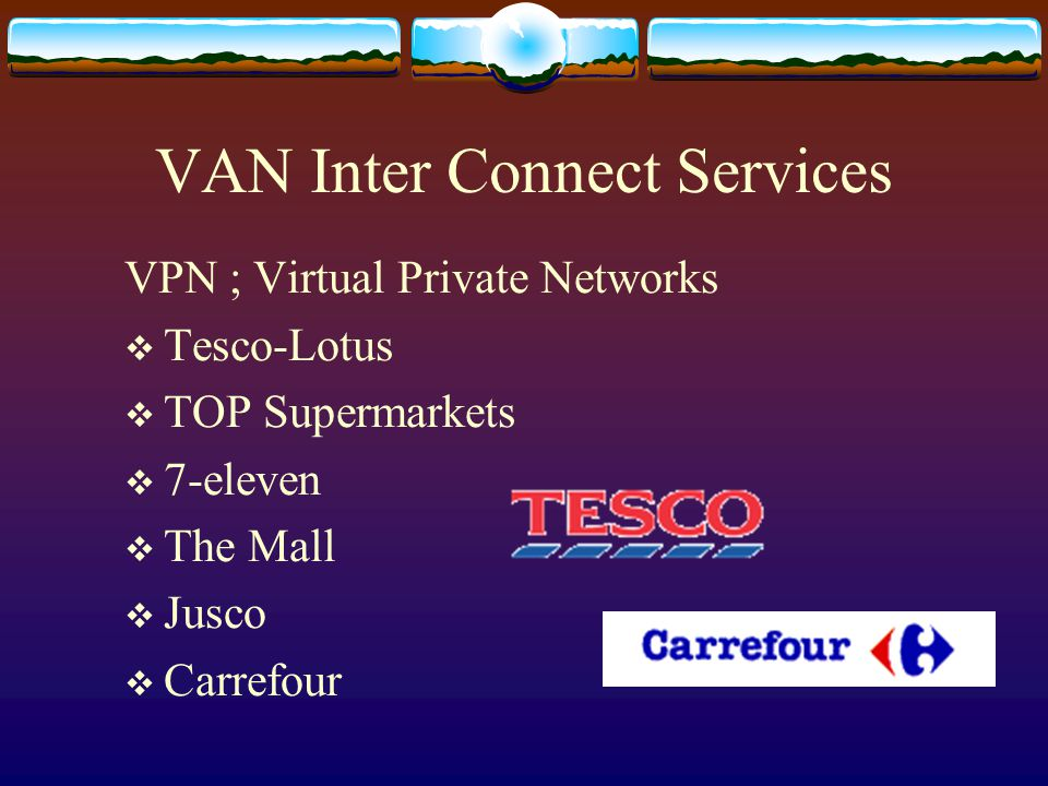 VAN Inter Connect Services