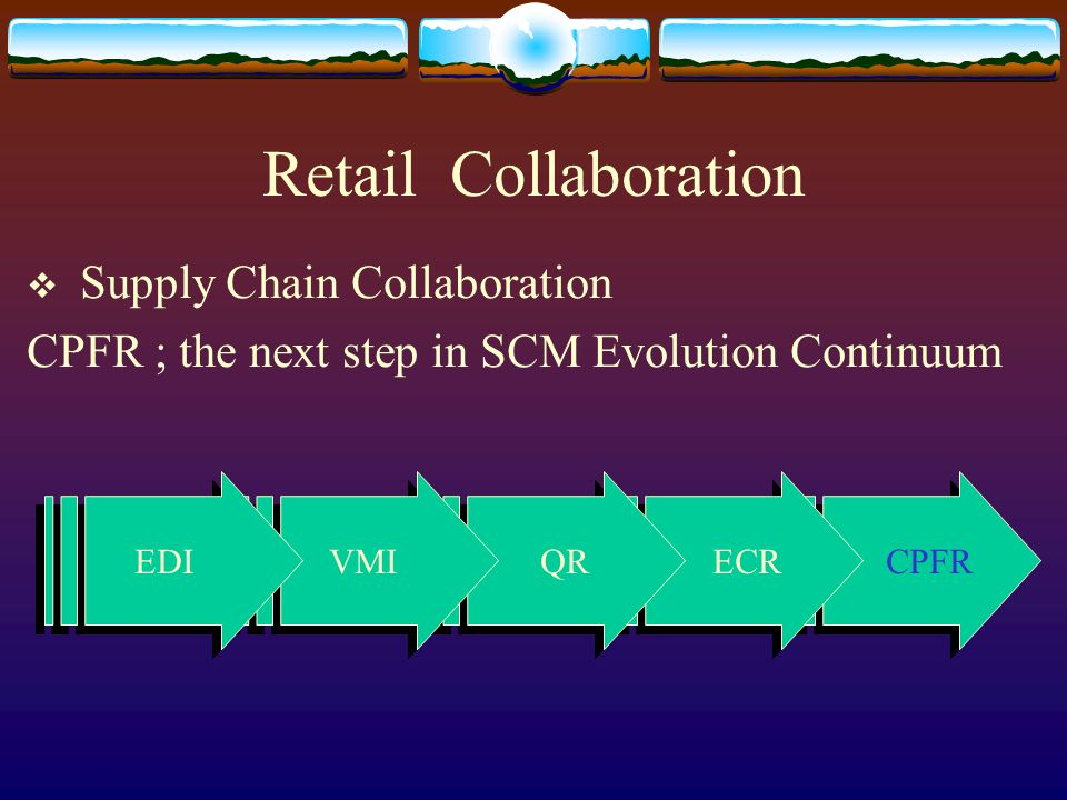 Retail Collaboration Supply Chain Collaboration