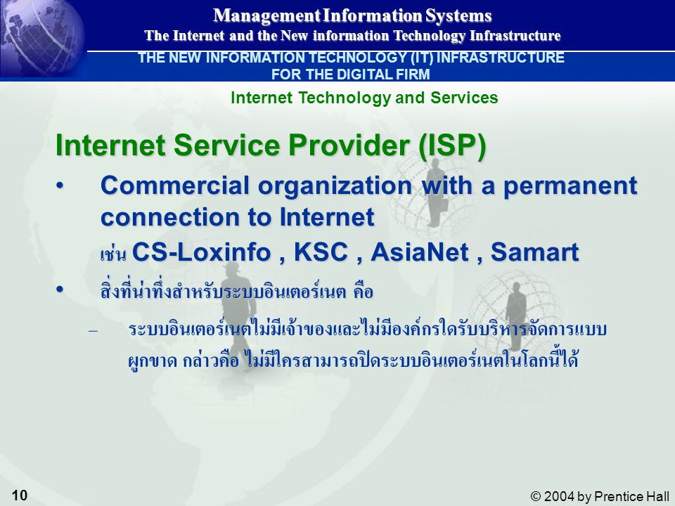 Internet Technology and Services