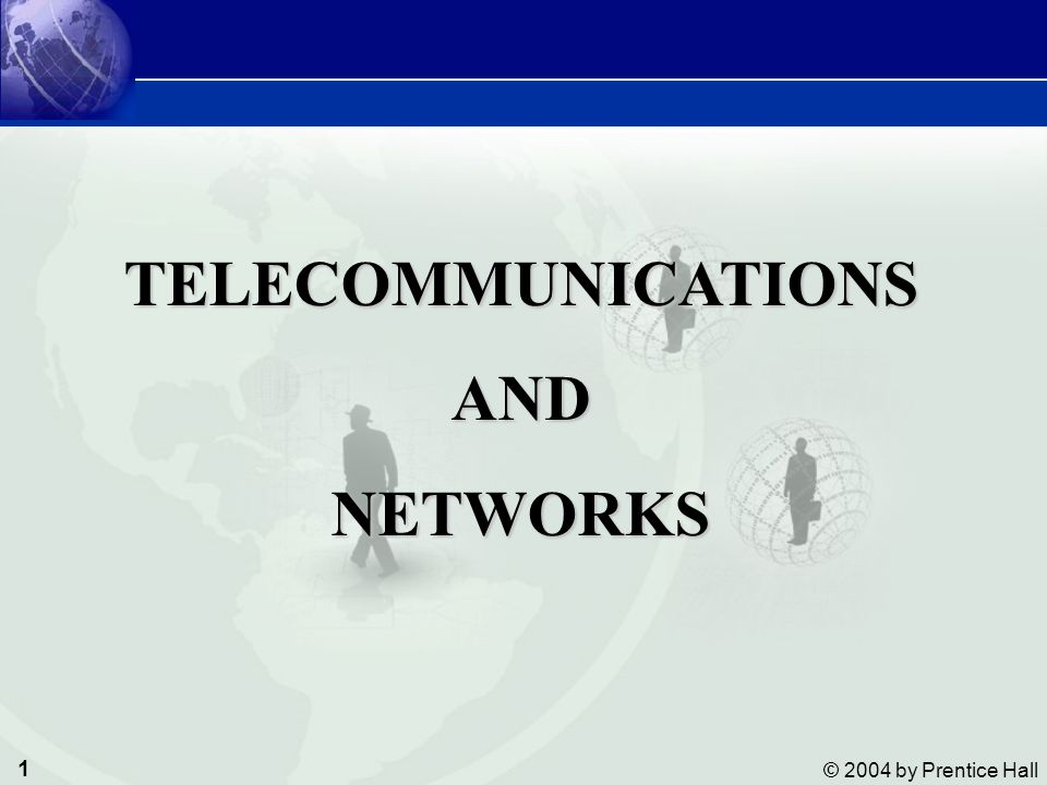 TELECOMMUNICATIONS AND NETWORKS