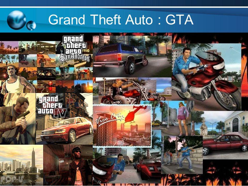 Grand Theft Auto : GTA