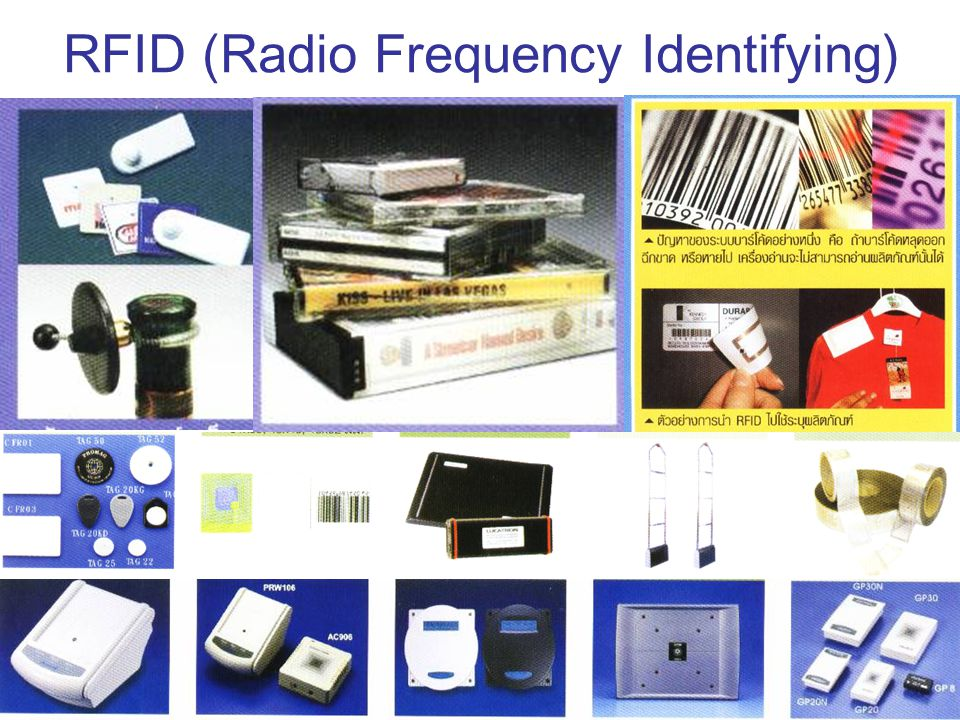 RFID (Radio Frequency Identifying)
