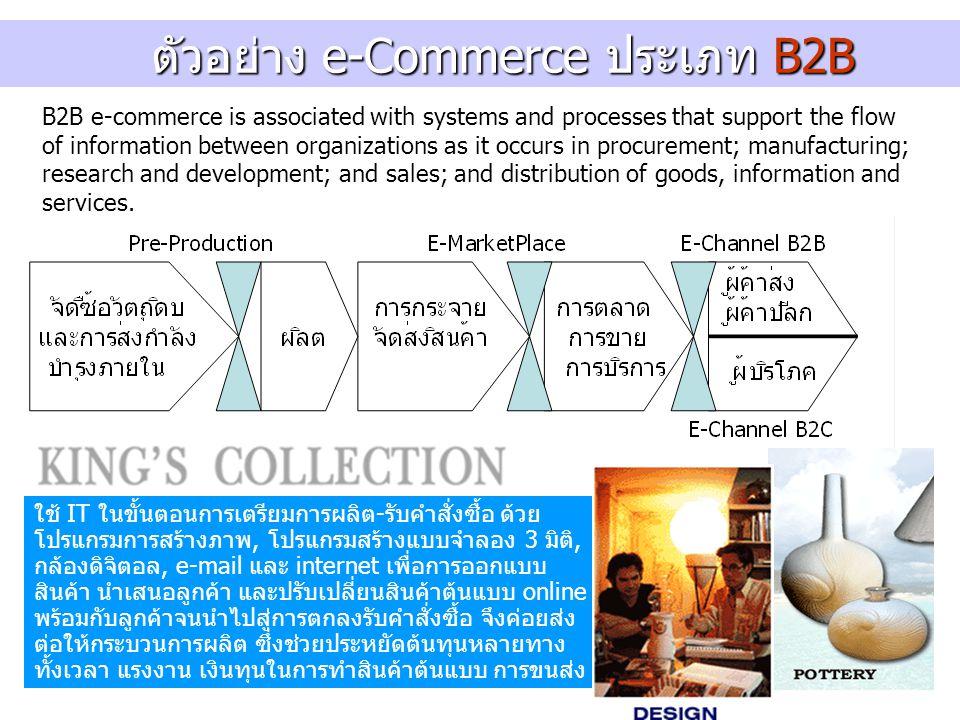 ตัวอย่าง e-Commerce ประเภท B2B