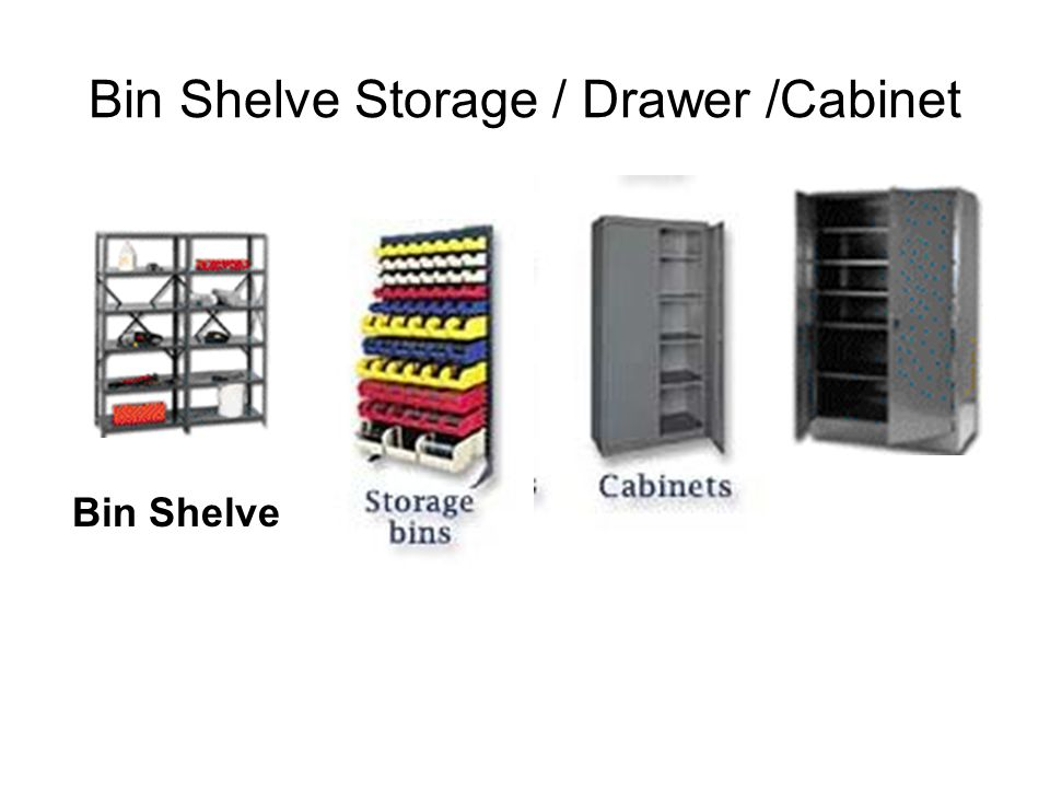 Bin Shelve Storage / Drawer /Cabinet