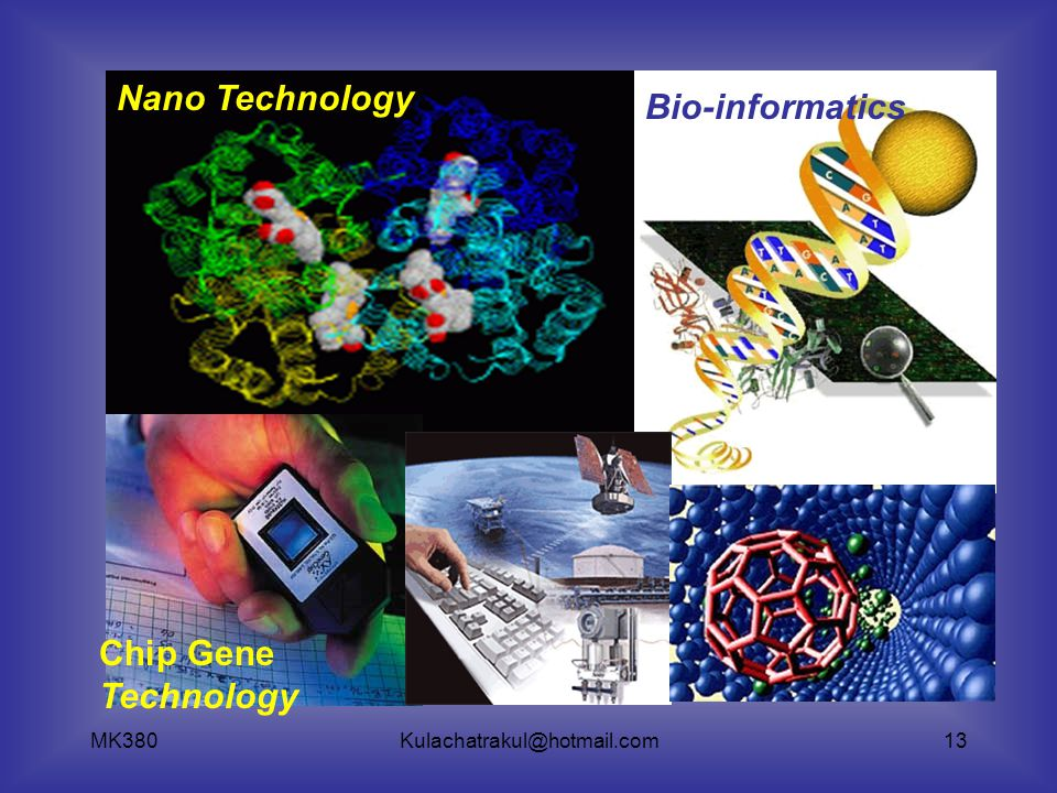 Nano Technology Bio-informatics Chip Gene Technology MK380