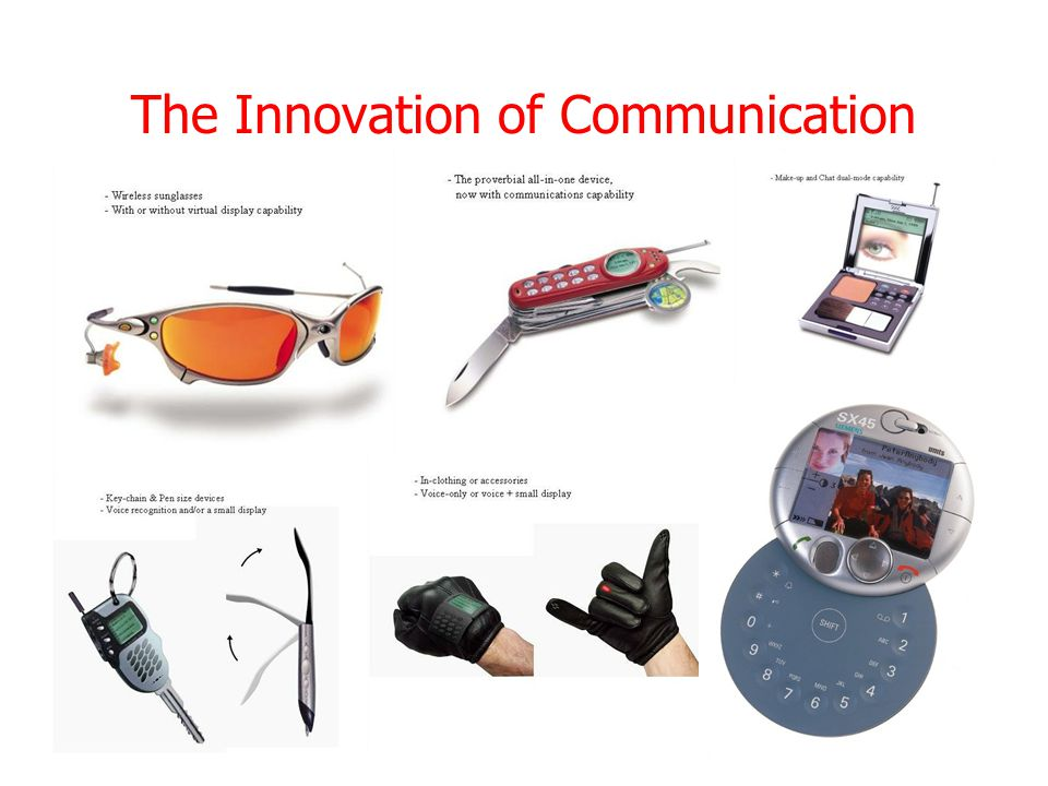 The Innovation of Communication