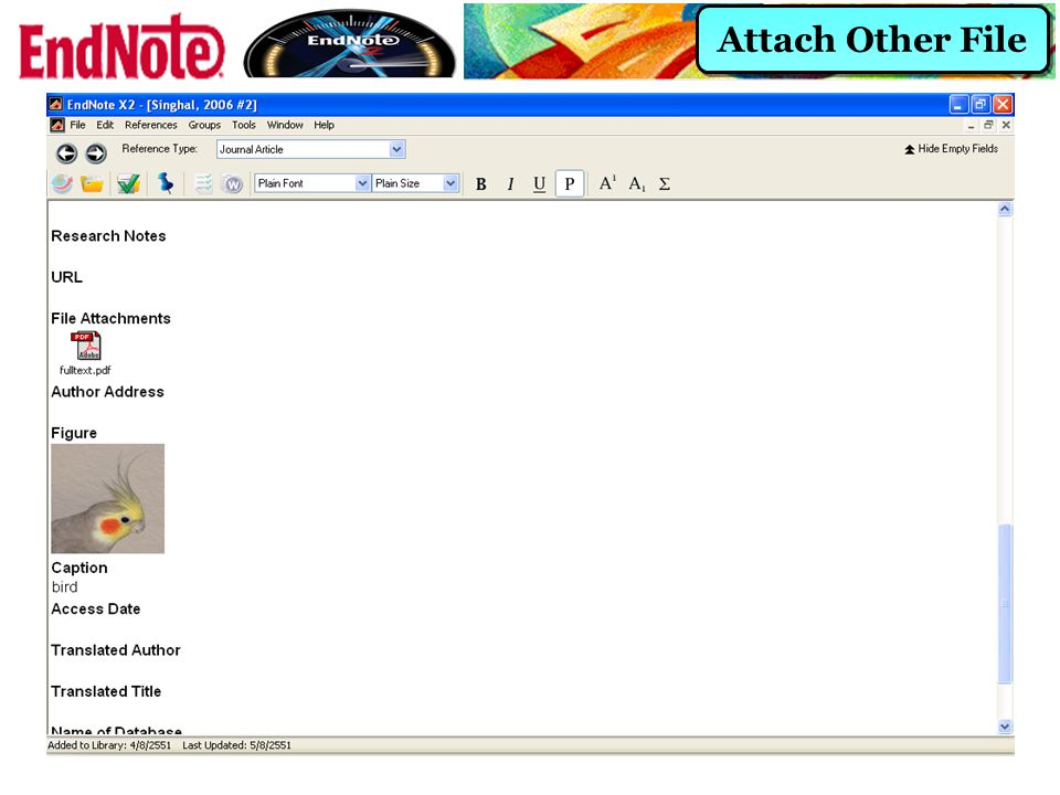 Attach Other File