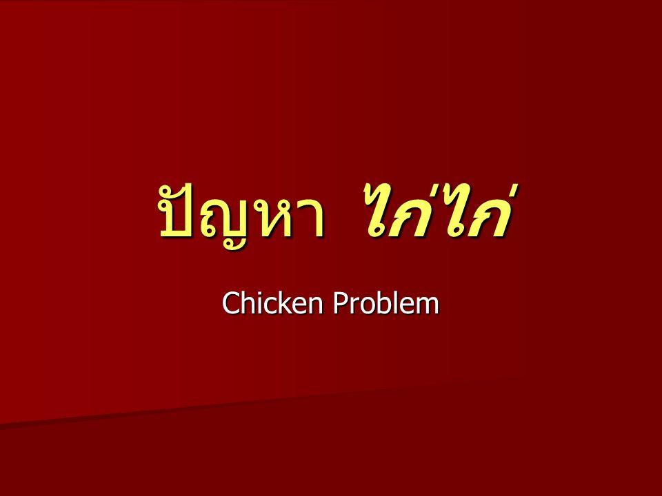 ปัญหา ไก่ไก่ Chicken Problem