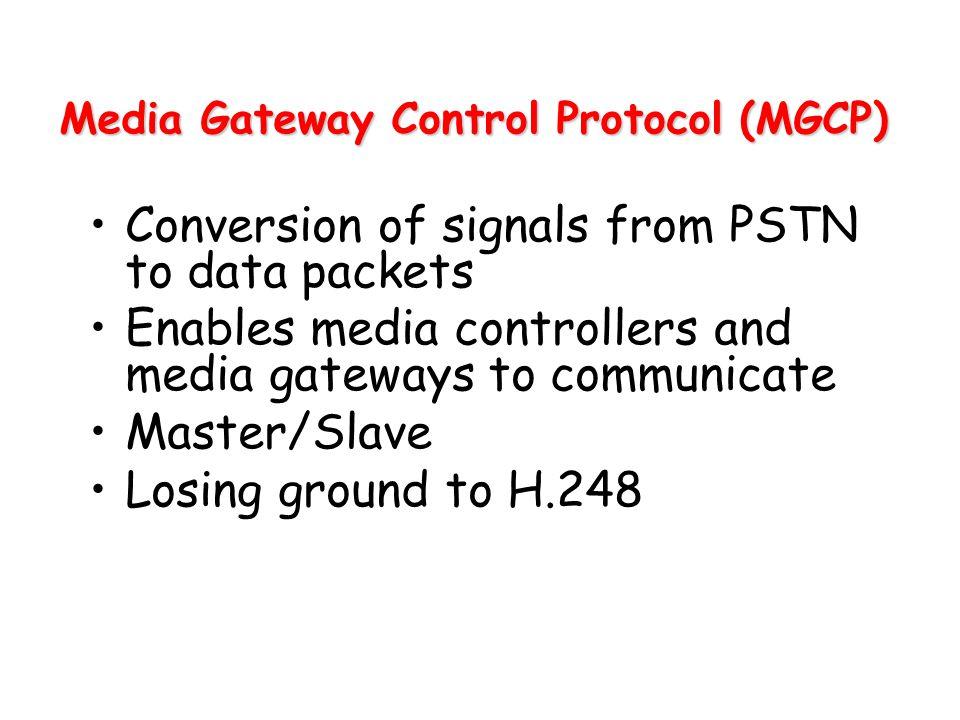 Media Gateway Control Protocol (MGCP)