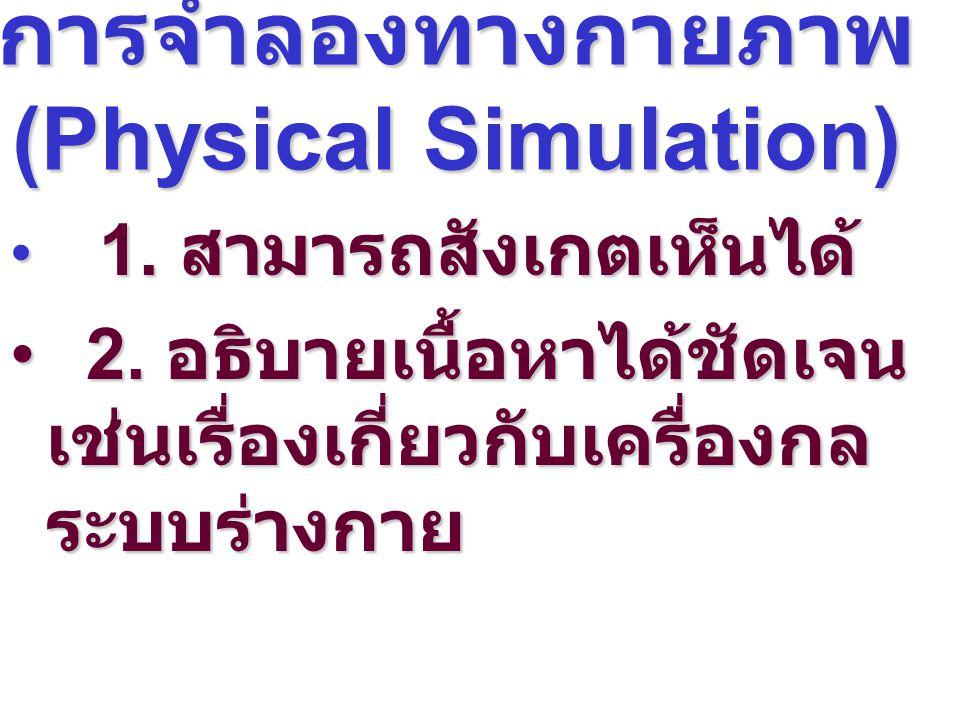การจำลองทางกายภาพ (Physical Simulation)