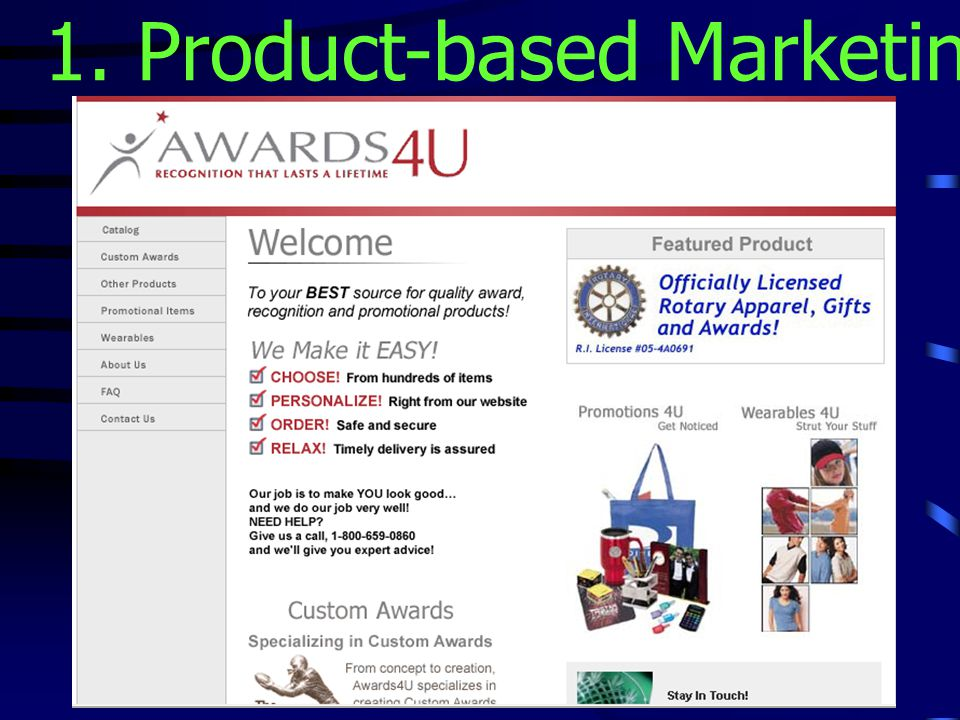 1. Product-based Marketing Strategies