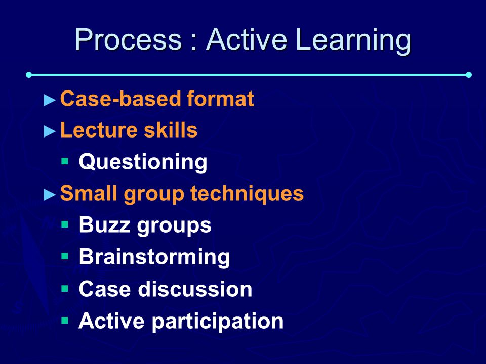 Process : Active Learning