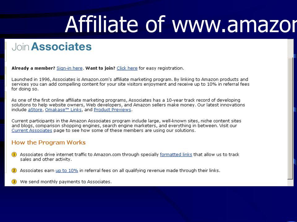 Affiliate of www.amazon.com