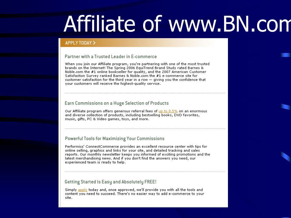 Affiliate of www.BN.com