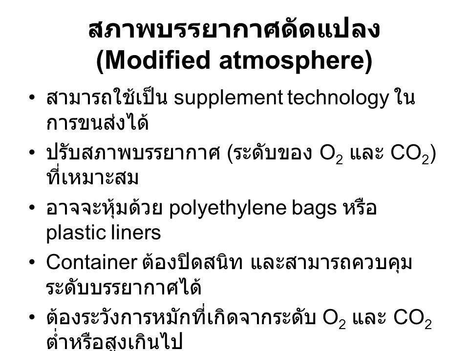 สภาพบรรยากาศดัดแปลง (Modified atmosphere)