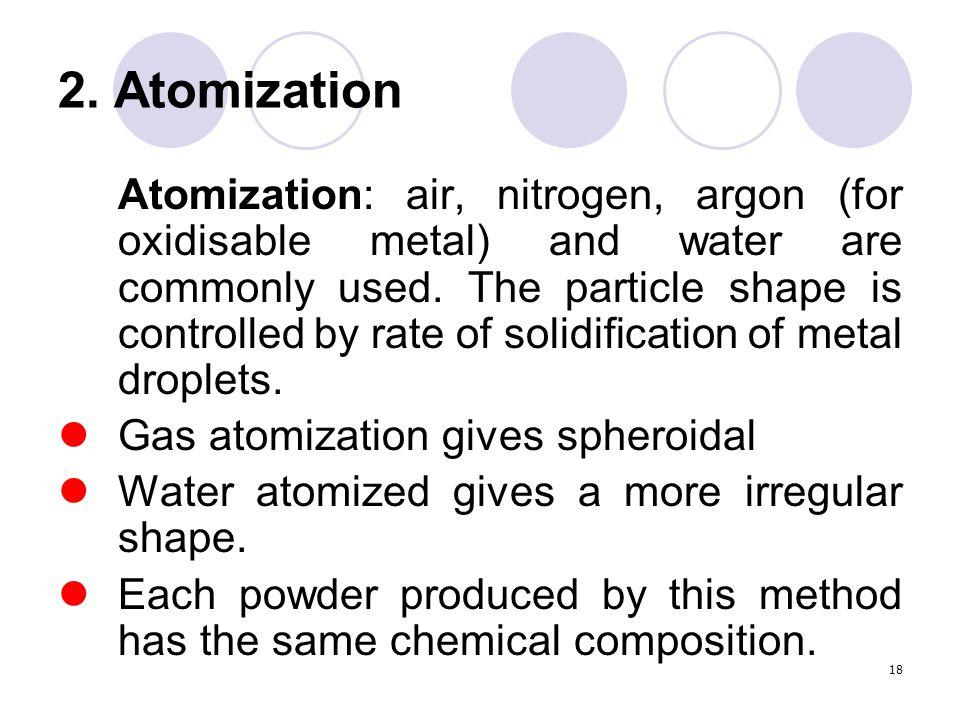2. Atomization