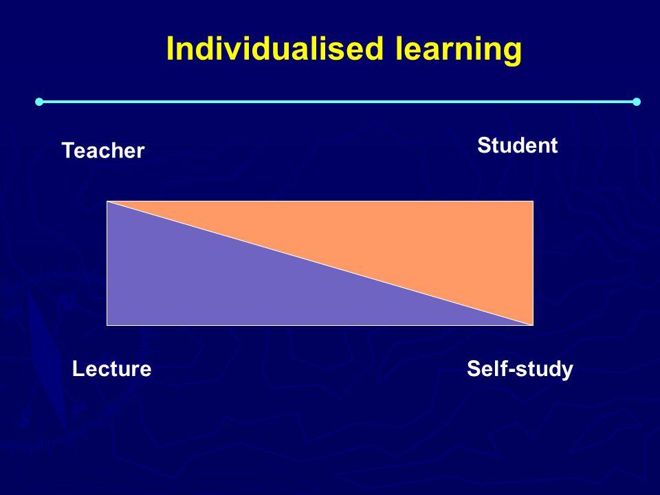 Individualised learning