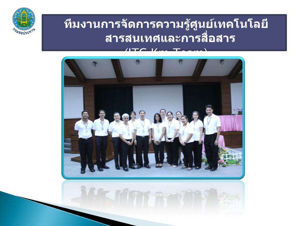 ทีมงานการจัดการความรู้ศูนย์เทคโนโลยีสารสนเทศและการสื่อสาร