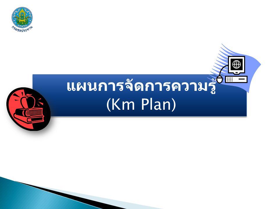 แผนการจัดการความรู้ (Km Plan)