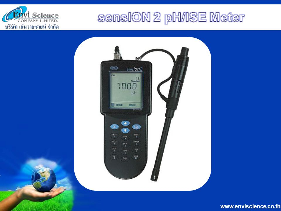 sensION 2 pH/ISE Meter
