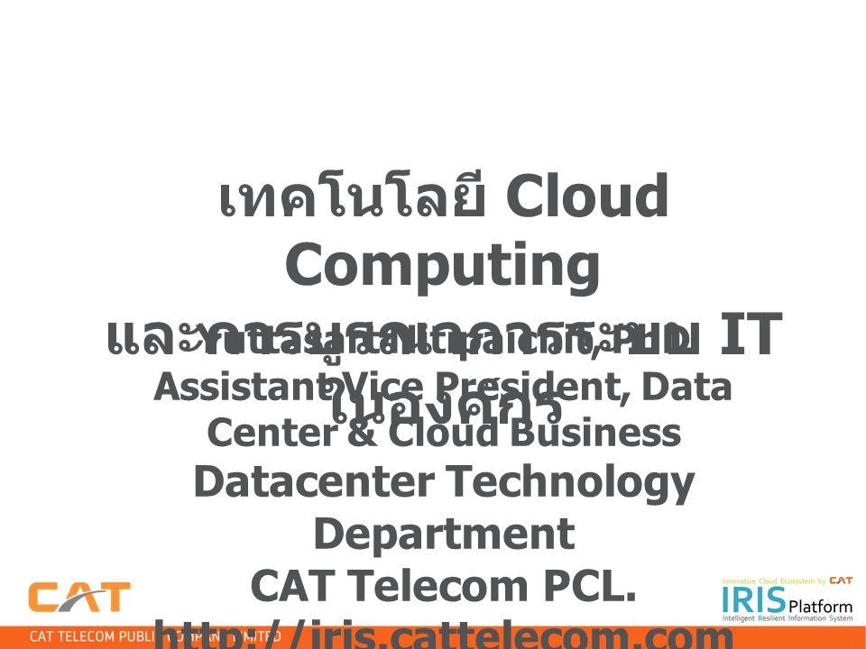เทคโนโลยี Cloud Computing และการบูรณาการระบบ IT ในองค์กร