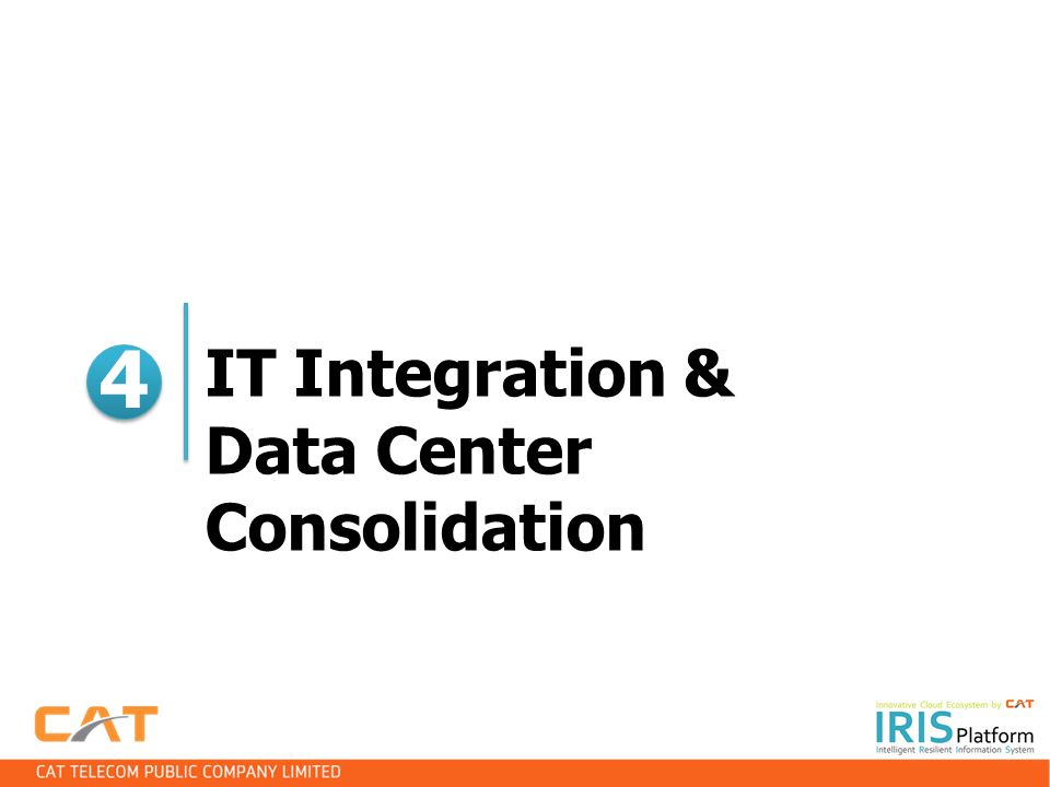 IT Integration & Data Center Consolidation