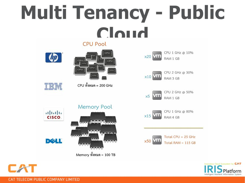 Multi Tenancy - Public Cloud