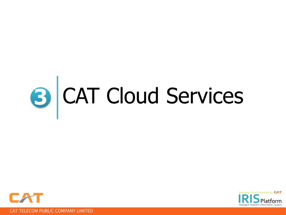 CAT Cloud Services 3