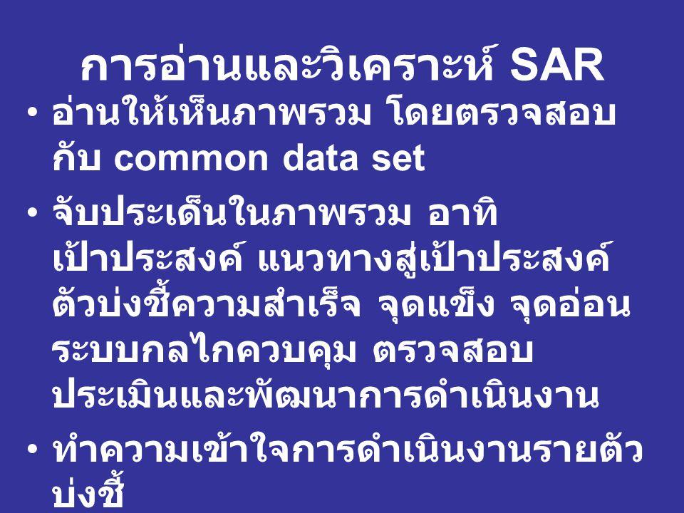 การอ่านและวิเคราะห์ SAR