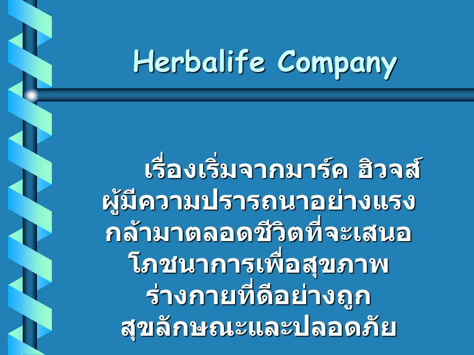 Herbalife Company