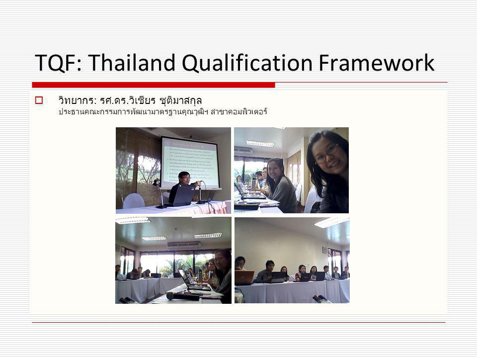 TQF: Thailand Qualification Framework